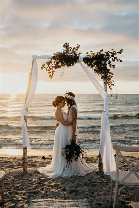 planning a beach wedding you ll want to copy every detail