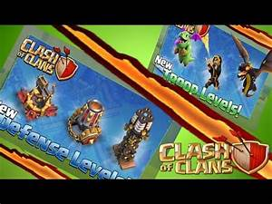 Clash of Clans NEW Update TROOPS & DEFENSES |Wizard level ...
