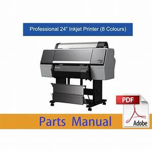 Epson Surecolor P6000 P6050 P6070 Parts Manual