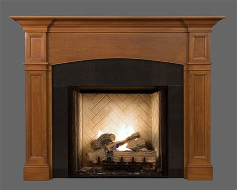 wood fireplace mantels arch hanford americana collection