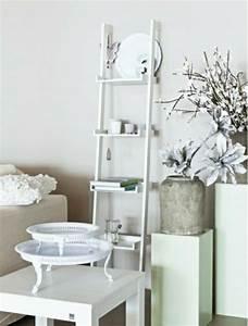 Echelle Decorative Blanche : echelle blanche top echelle arrire pliante blanche with ~ Teatrodelosmanantiales.com Idées de Décoration
