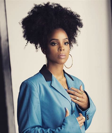 Kelly Rowland in 2019 | Curly hair styles, Hair styles ...
