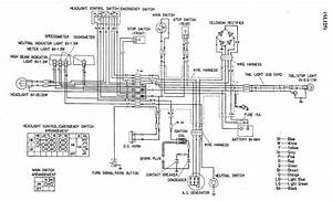 Wiring Diagram Of Honda Sl 125 Motorcycle  U2013 Auto