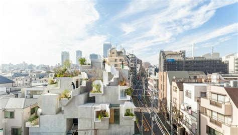 Tree Ness House In Tokio by Akihisa Hirata Treeness House Haus Und Kunstgalerie In