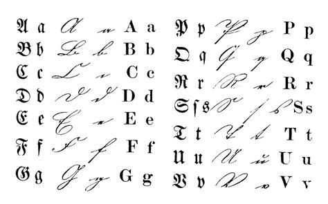 script styles scriptrans  german script