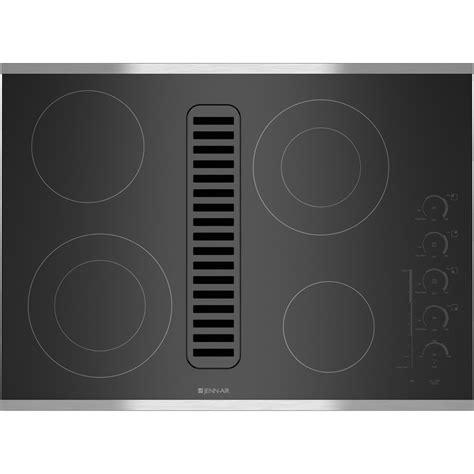 ge gas cooktop 36 inch jed4430ws jenn air 30 quot downdraft radiant cooktop stainless