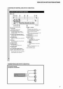 Wiring Diagrams  Sony Cdx Gt200