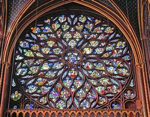 Sainte-Chapelle (1242-1248), Ile de la Cité, Paris, France ...