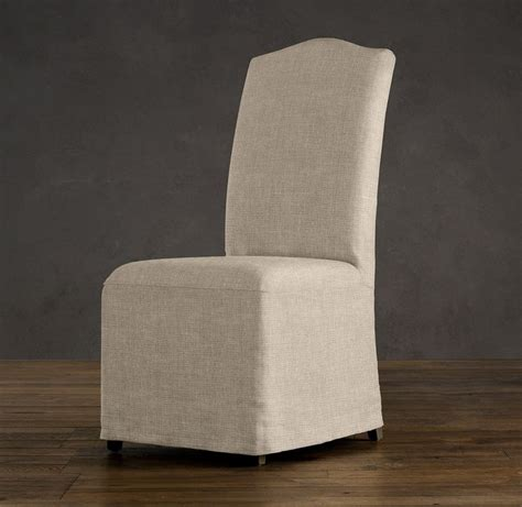 hudson camelback slipcovered side chair with slipcover