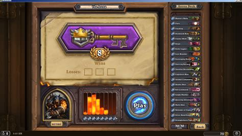 please post your 9 0 arena decks the arena