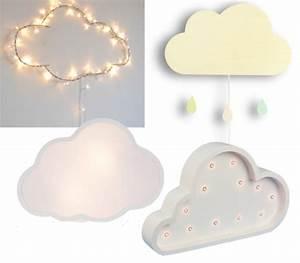 Lampe Veilleuse Enfant : o trouver une lampe nuage blog d co clemaroundthecorner ~ Teatrodelosmanantiales.com Idées de Décoration