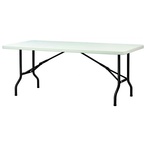 table en polypropyl 232 ne pliante table en polypropyl 232 ne rectangulaire dmc direct