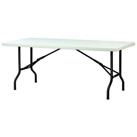 table pliante de collectivite table en polypropyl 232 ne pliante table en polypropyl 232 ne rectangulaire dmc direct