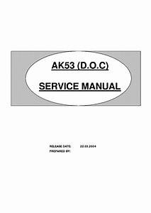 Toshiba Ak53 Chassis 29vh37g Tv Sm Service Manual Download