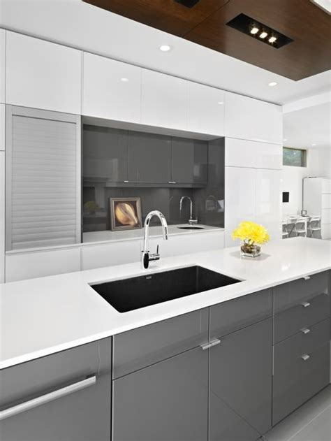 ikea gray kitchen cabinets ikea gloss grey cabinets home design ideas pictures