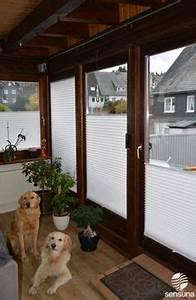 Vorhang Tür Wärmeschutz : sichtschutz plissee f r fenster und t ren balkon balkon pinterest fenster und t ren ~ Orissabook.com Haus und Dekorationen