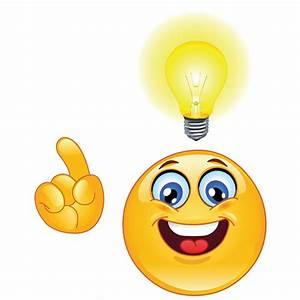 Smiley Having an Idea! | Smiley, Smileys and Emojis