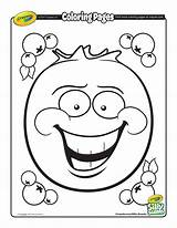 Coloring Blueberry Silly Printable Pages Getcolorings Scents Getdrawings sketch template