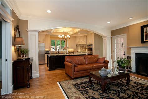Kitchen Living Room Separator by Derby Glen Kitchen And Dining Room Dunn Development Inc