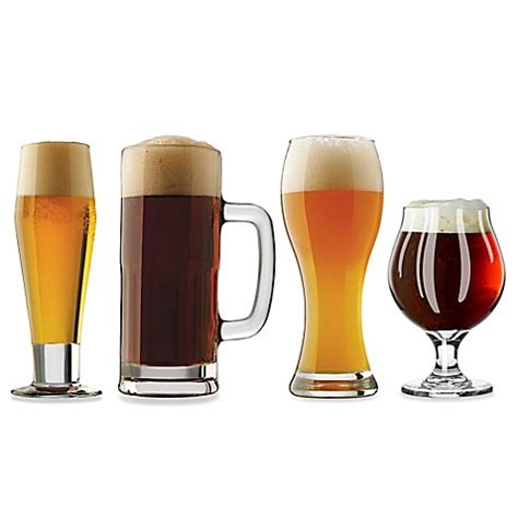 libbey craft brew glass collection bed bath