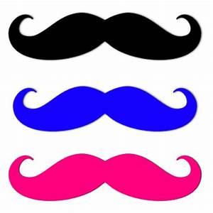 Colorful moustaches Moustaches Pinterest