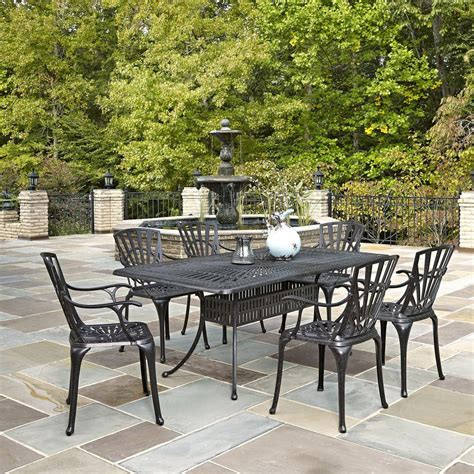 home styles largo 7 outdoor patio dining set 5560