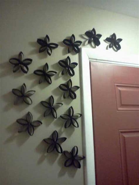 diy paper toilet roll crafts   beautify  walls