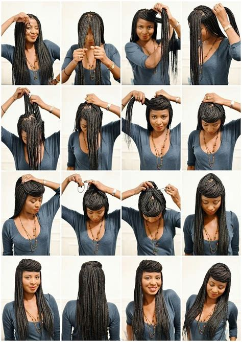 6 Other Ways To Style Your Box Braids  Get Your Sizzelle On