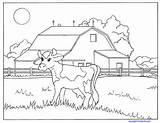 Coloring Farm Pages Cow Barn Animals Pdf Animal Competition Kinderart Printable Activities Farming Cows Horses Ukg Clipart Printables Colouring Sheets sketch template