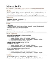 creative resume templates free online resume exles free learnhowtoloseweight net