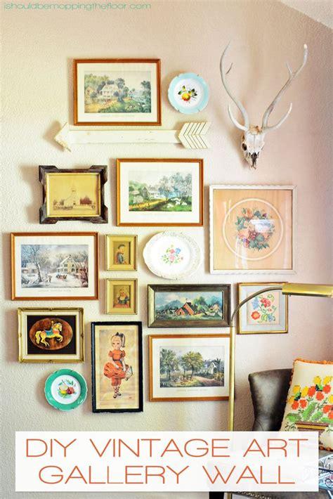 vintage wall decor 25 best ideas about vintage on vintage