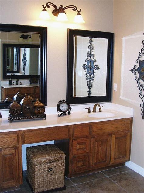 bathroom mirror frames ideas 3 major ways we you didn t mirrors can transform your