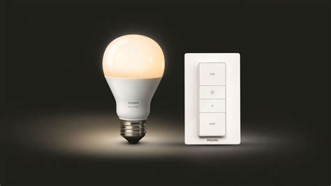 Dim Philips' Hue Bulbs With Wireless Dimmer Switch Home Depot Kitchen Tiles Backsplash Floor Tile Paint Lights Pendants Tiling A Wall B & Q Subway Pictures Installing Led Under Cabinets Boos Islands