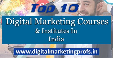 top 10 digital marketing courses top 10 digital marketing courses and institutes in india