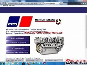 Cd Tranning Engine Mtu Series 4000  Cd 1