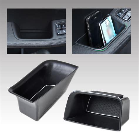 porsche box hotsale 2 pcs front door armrest storage box holder for