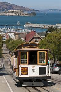 San Francisco California Cable Car