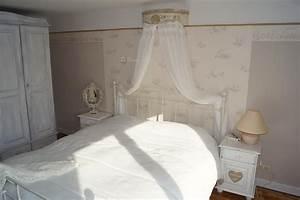 Chambre Shabby Chic : ciel de lit romantique et shabby chic le grenier d 39 alice ~ Preciouscoupons.com Idées de Décoration
