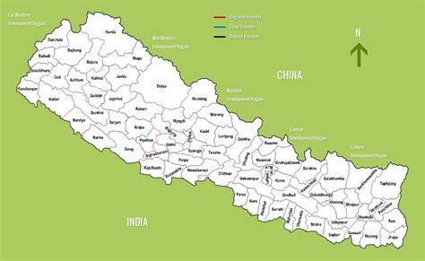 district maps  nepal market