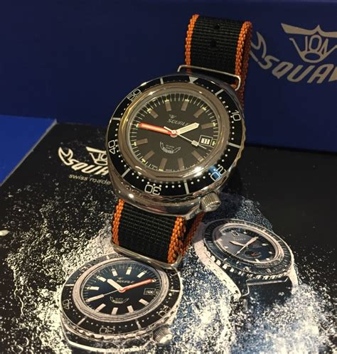 A Watch Winner Review For The Squale 2002 Collection 1000
