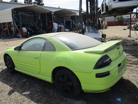 Green Mitsubishi Eclipse by 2000 Mitsubishi Eclipse Gt Lime Green 3 0l Mt 163769