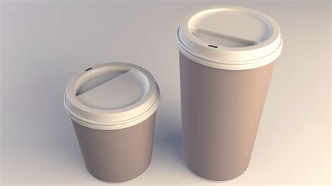 Coffee Cup Take Away 3D Model .max .obj .3ds .fbx .dxf .dwg   CGTrader.com