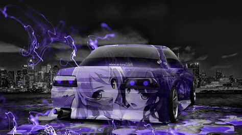 nissan gtr  tuning jdm anime girls aerography city car
