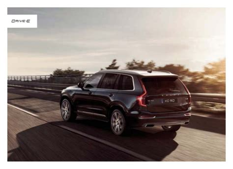 Orange County Volvo by 2016 Volvo Xc90 Brochure Orange County Volvo