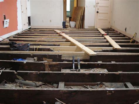 sagging floor joist floor joist reconstruction flickr photo