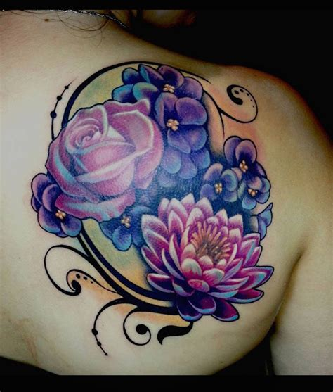 flower coverup  theartofrain tattoo ideas tattoo