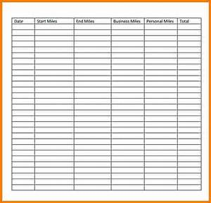 search results for free printable mileage log sheet With mileage calendar template