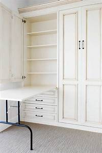 Arts And Crafts Möbel : craft room murphy bed schrankbett wandbett murphy bed pinterest m bel schrank und n hzimmer ~ Orissabook.com Haus und Dekorationen