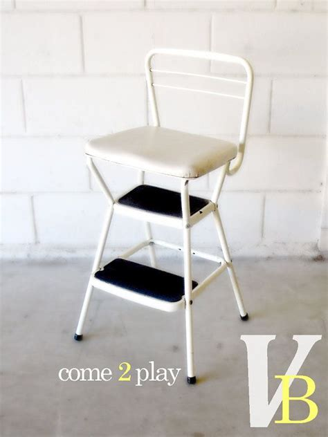 Cosco Step Stool Chair White by Vintage White Cosco Step Stool Chair For The Home