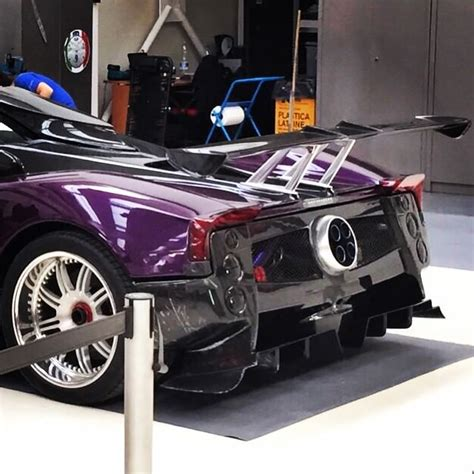 pagani zonda 760 zozo one off edition rear end view ...